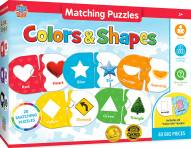 Colors & Shapes Educational Matching Puzzle