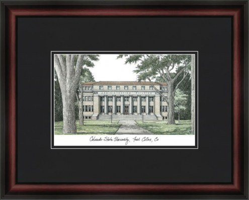 Colorado State University Academic Framed Lithograph