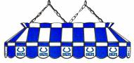 "Indianapolis Colts NFL Team 40"" Rectangular Stained Glass Shade"