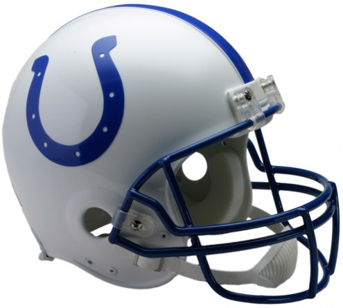 Riddell Indianapolis Colts 1995-03 Authentic Throwback NFL Football Helmet - Full Size