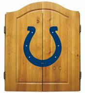 Indianapolis Colts NFL Complete Dart Board Cabinet Set (w/darts & flights)