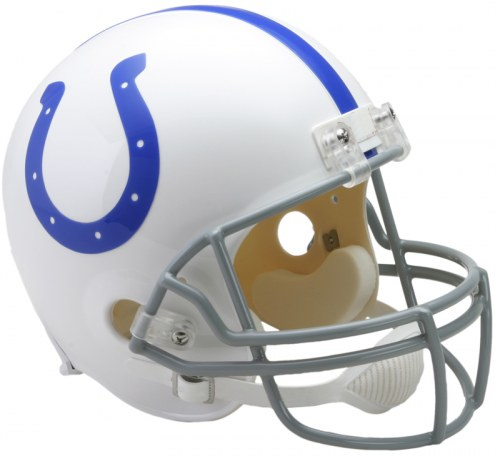 Riddell Baltimore Colts 1958-77 Deluxe Collectible Throwback NFL Football Helmet