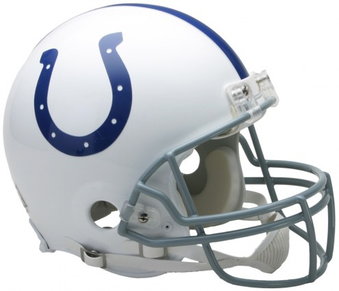 Riddell Indianapolis Colts Authentic VSR4 NFL Football Helmet