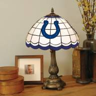 Indianapolis Colts NFL Stained Glass Table Lamp