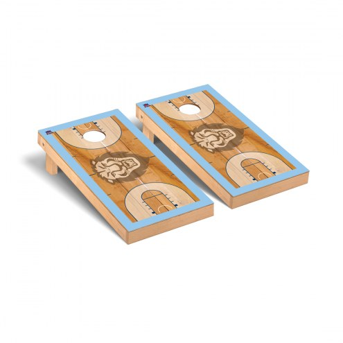 Columbia Lions Basketball Court Cornhole Game Set