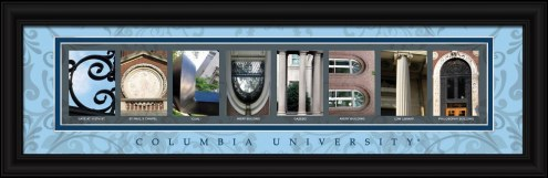 Columbia Lions Campus Letter Art