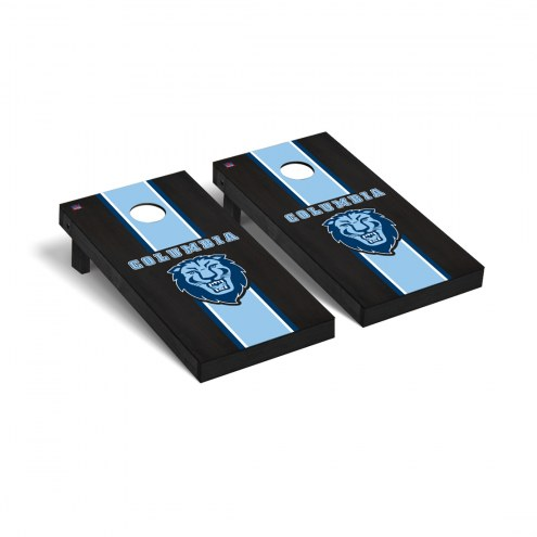 Columbia Lions Onyx Stained Cornhole Game Set