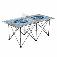 Columbia Lions Pop Up 6' Ping Pong Table