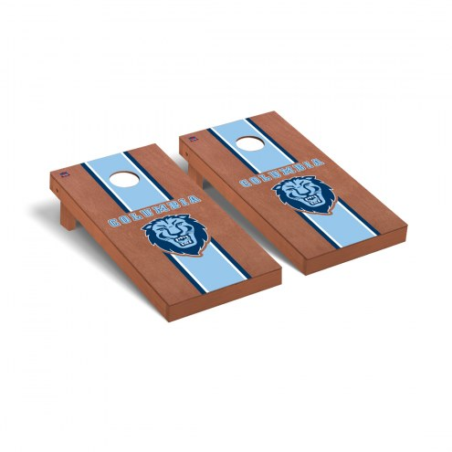 Columbia Lions Rosewood Stained Cornhole Game Set