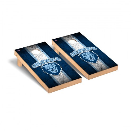 Columbia Lions Vintage Cornhole Game Set