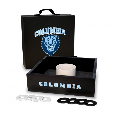 Columbia Lions Washer Toss Game Set