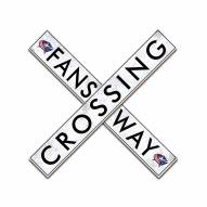 "Columbus Blue Jackets 24"" Fans Way Crossing Wall Art"