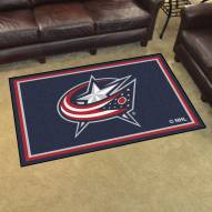 Columbus Blue Jackets 4' x 6' Area Rug