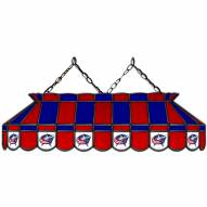 """Columbus Blue Jackets 40"""" Stained Glass Billiard Lamp"""