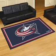 Columbus Blue Jackets 5' x 8' Area Rug