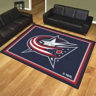 Columbus Blue Jackets 8' x 10' Area Rug