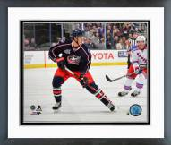 Columbus Blue Jackets Alexander Wennberg Action Framed Photo