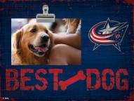 Columbus Blue Jackets Best Dog Clip Frame