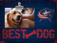 Columbus Blue Jackets Best Dog Clip Frame