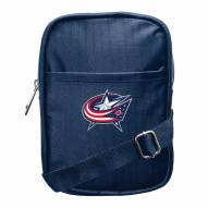 Columbus Blue Jackets Camera Crossbody Bag