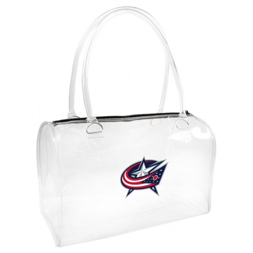 Columbus Blue Jackets Clear Bowler