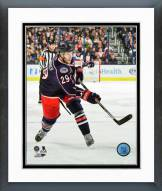 Columbus Blue Jackets Cody Goloubef 2014-15 Action Framed Photo