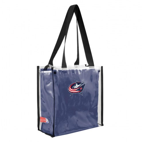 Columbus Blue Jackets Convertible Clear Tote