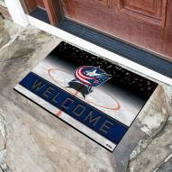 Columbus Blue Jackets Crumb Rubber Door Mat
