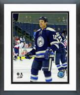 Columbus Blue Jackets David Clarkson Action Framed Photo