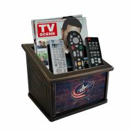 Columbus Blue Jackets Distressed Team Color Media Organizer