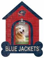 Columbus Blue Jackets Dog Bone House Clip Frame