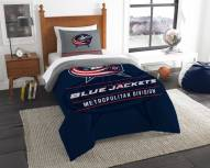 Columbus Blue Jackets Draft Twin Comforter Set