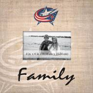 Columbus Blue Jackets Family Picture Frame