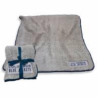 Columbus Blue Jackets Frosty Fleece Blanket