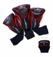 Columbus Blue Jackets Golf Headcovers - 3 Pack