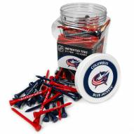 Columbus Blue Jackets 175 Golf Tee Jar