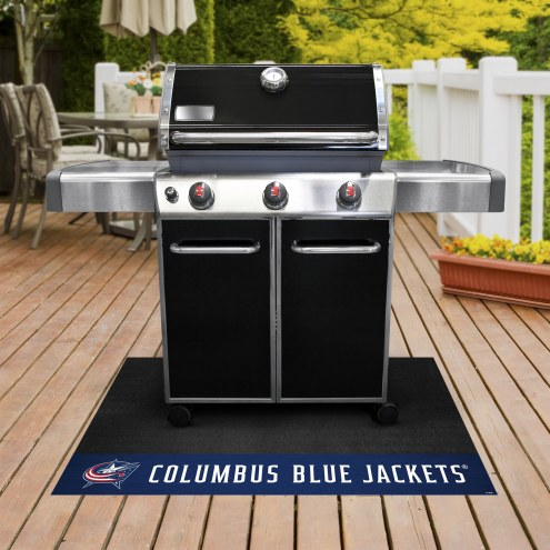Columbus Blue Jackets Grill Mat