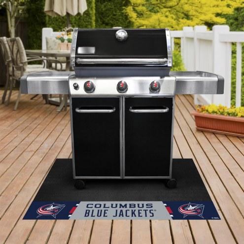 Columbus Blue Jackets Grill Mat