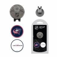 Columbus Blue Jackets Hat Clip & Marker Set