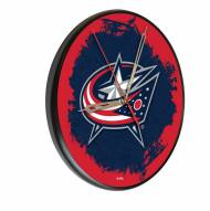 Columbus Blue Jackets Digitally Printed Wood Clock