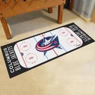 Columbus Blue Jackets Hockey Rink Runner Mat