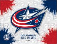 Columbus Blue Jackets Logo Canvas Print