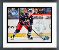 Columbus Blue Jackets Jack Johnson Action Framed Photo