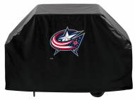 Columbus Blue Jackets Logo Grill Cover