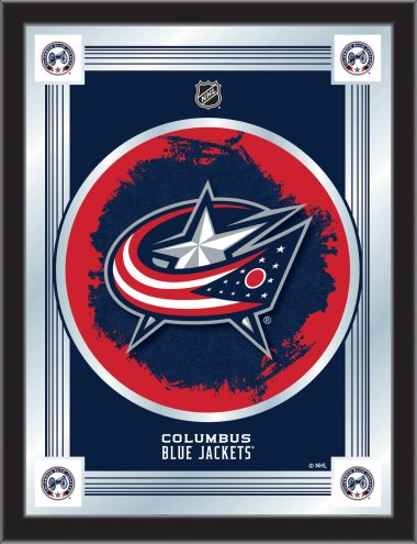 Columbus Blue Jackets Logo Mirror