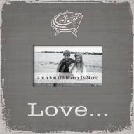 Columbus Blue Jackets Love Picture Frame