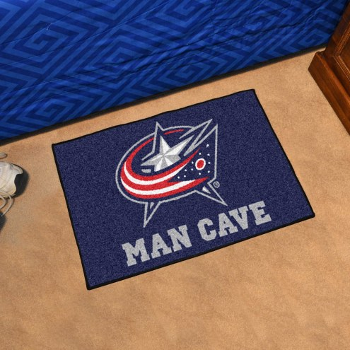 Columbus Blue Jackets Man Cave Starter Mat