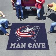 Columbus Blue Jackets Man Cave Tailgate Mat