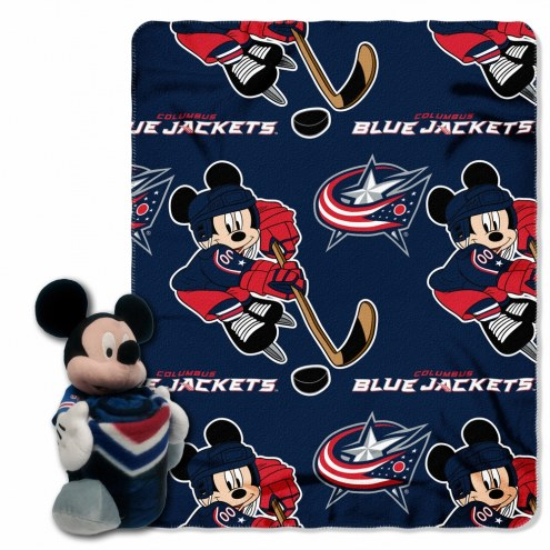 Columbus Blue Jackets Mickey Mouse Hugger