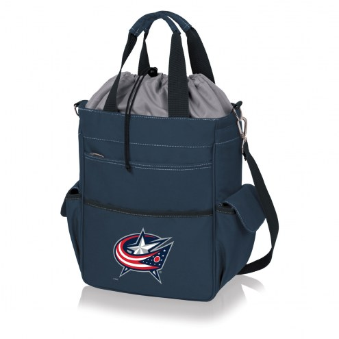 Columbus Blue Jackets Navy Activo Cooler Tote